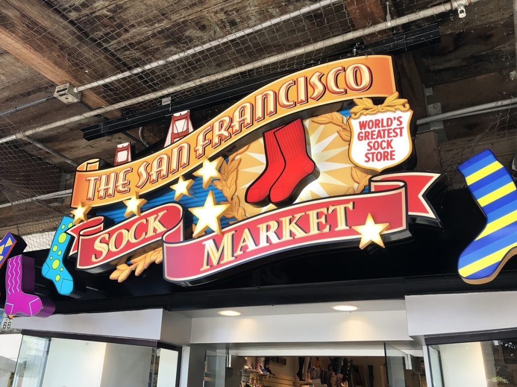 The San Francisco Sock Market